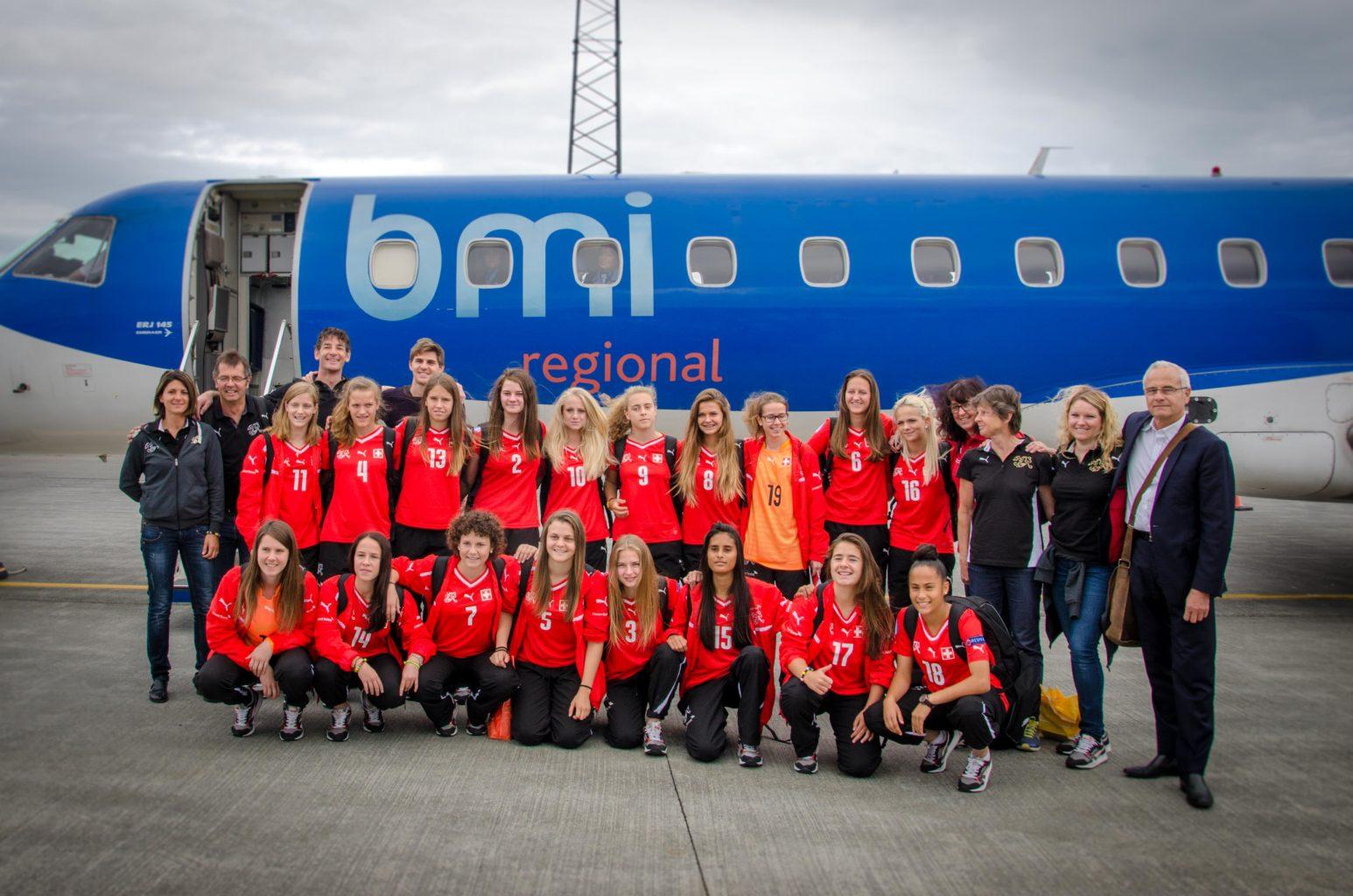 Girls U 17 Footnball 2015