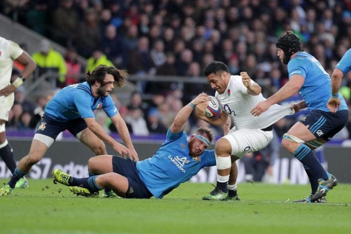 Rugby players Six Nations