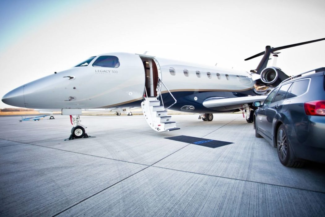 Legacy 500 charter