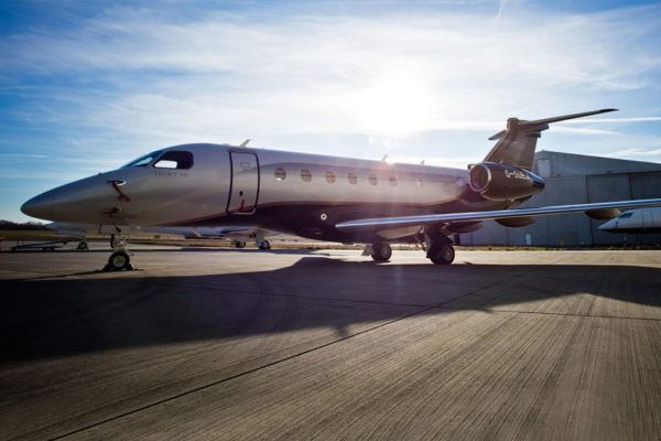 Legacy 500 private jet