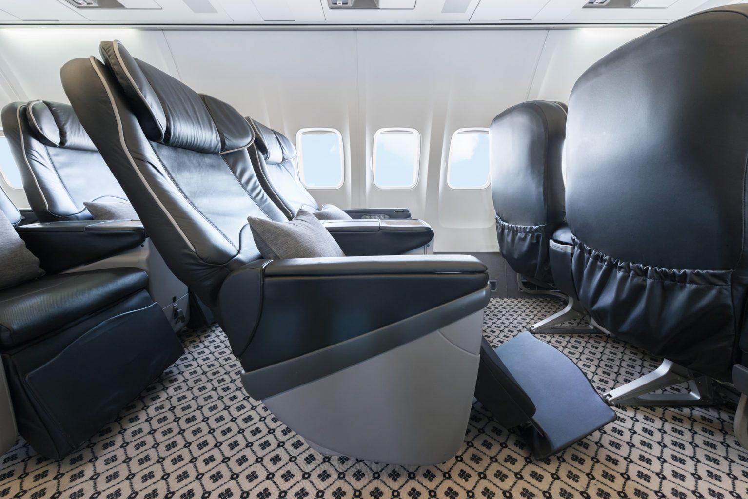 Aircraft seats pre-season travel
