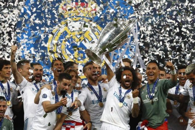 Real Madird Champions league final 2018
