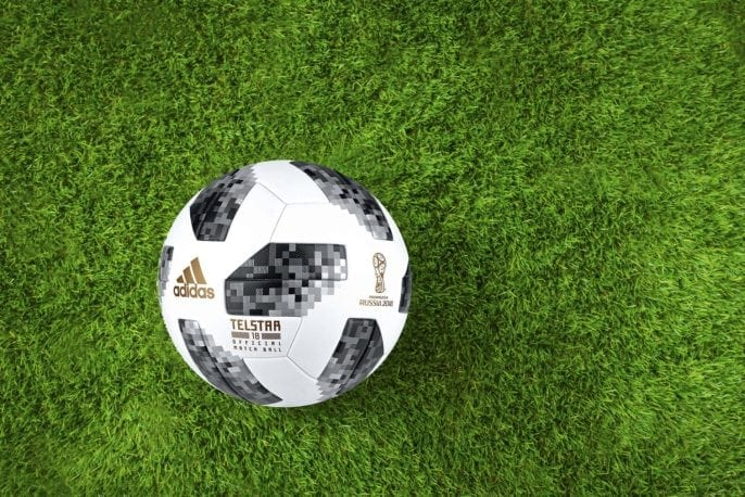World Cup 2018 football