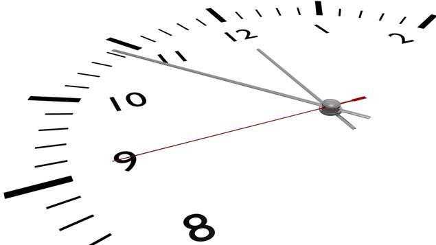 Last minute schedule change