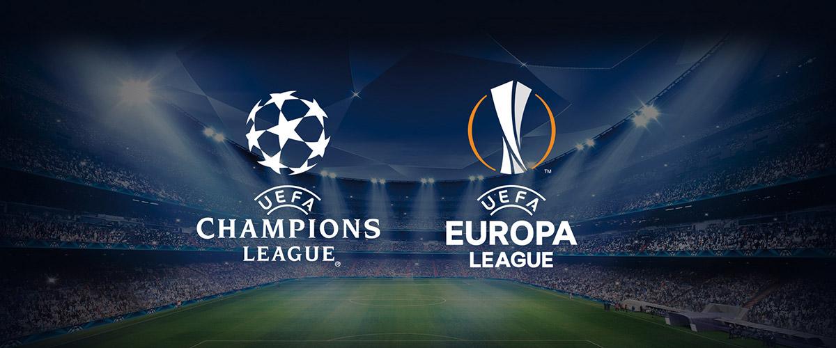 UEFA Champions League and Europa League